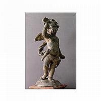 CUPIDON EN PLOMB FRANCE, XVIIIE SIÈCLE, D'APRÈS UN MODÈLE DE GASPARDMARSY (1624-1681)