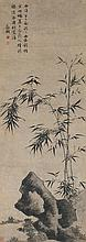 WEN ZHENGMING 1470-1559 | ROCKS AND BAMBOO