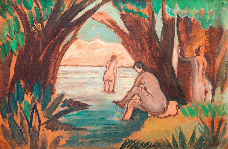 HUSSEIN YOUSSEF AMIN | Bathing Nudes