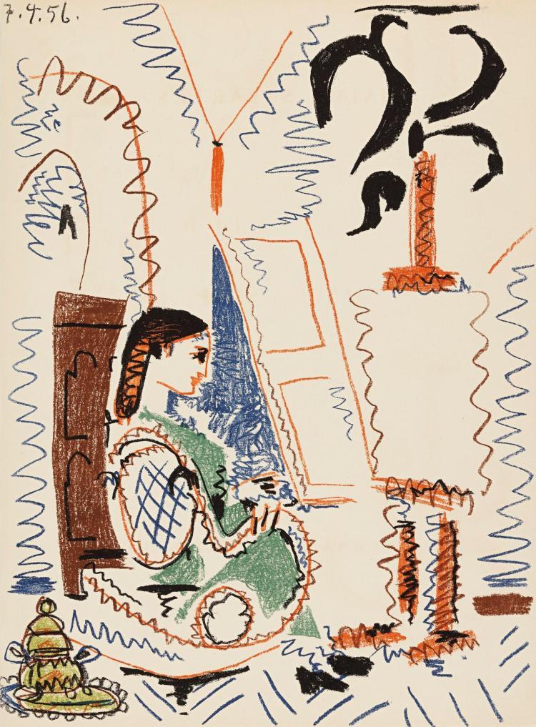 PABLO PICASSO | Dans l'atelier de Picasso (Cramer 88)