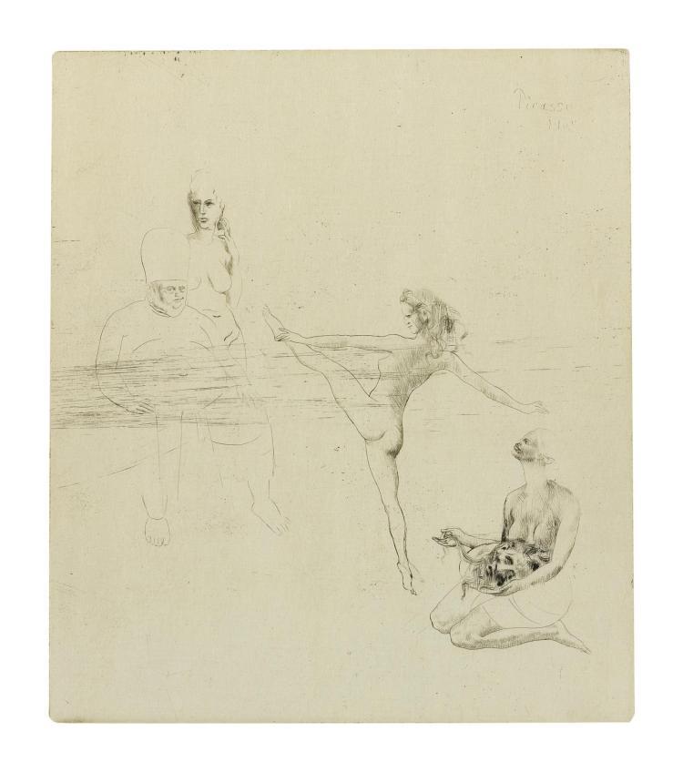 PABLO PICASSO | Salomé (Bloch 14; Baer 17)