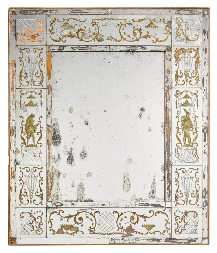 Probably Italy Venetian Style Mirror