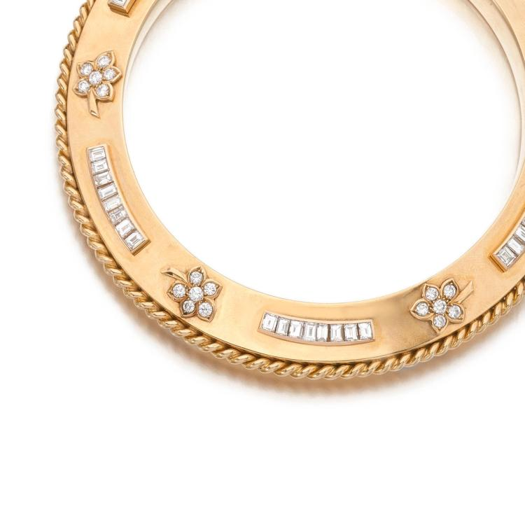 DIAMOND PURSE HANDLE
