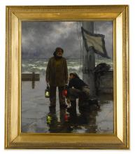 Emile Renouf Paintings For Sale Emile Renouf Art Value Price Guide
