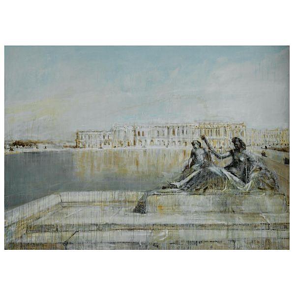 m - Valery Koshlyakov , b.1962 versailles oil on canvas