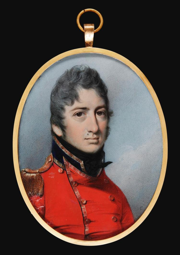 GEORGE ENGLEHEART | Portrait of an officer