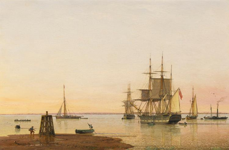 JOHN WARD OF HULL | THE BARQUE 'COLUMBINE' ON THE HUMBER