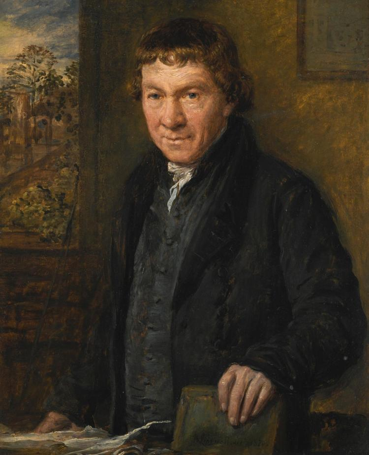 JOHN LINNELL | Portrait of Thomas Cadby