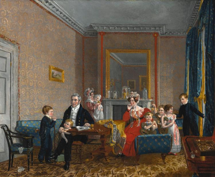 ATTRIBUTED TO EDWARD VILLIERS RIPPINGILLE | Domestic Bliss