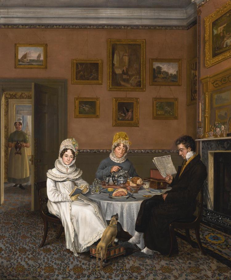 ABRAHAM BRUININGH VAN WORRELL | The Breakfast Table