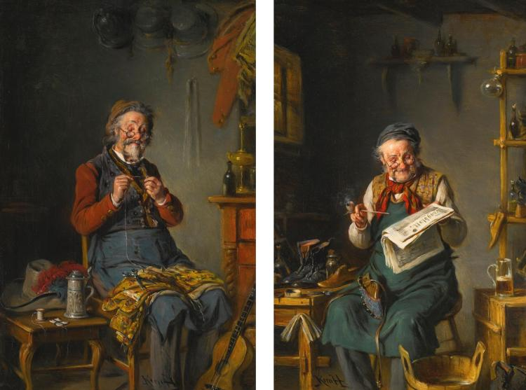 HERMANN KERN | The Tailor and the Cobbler, a Pair