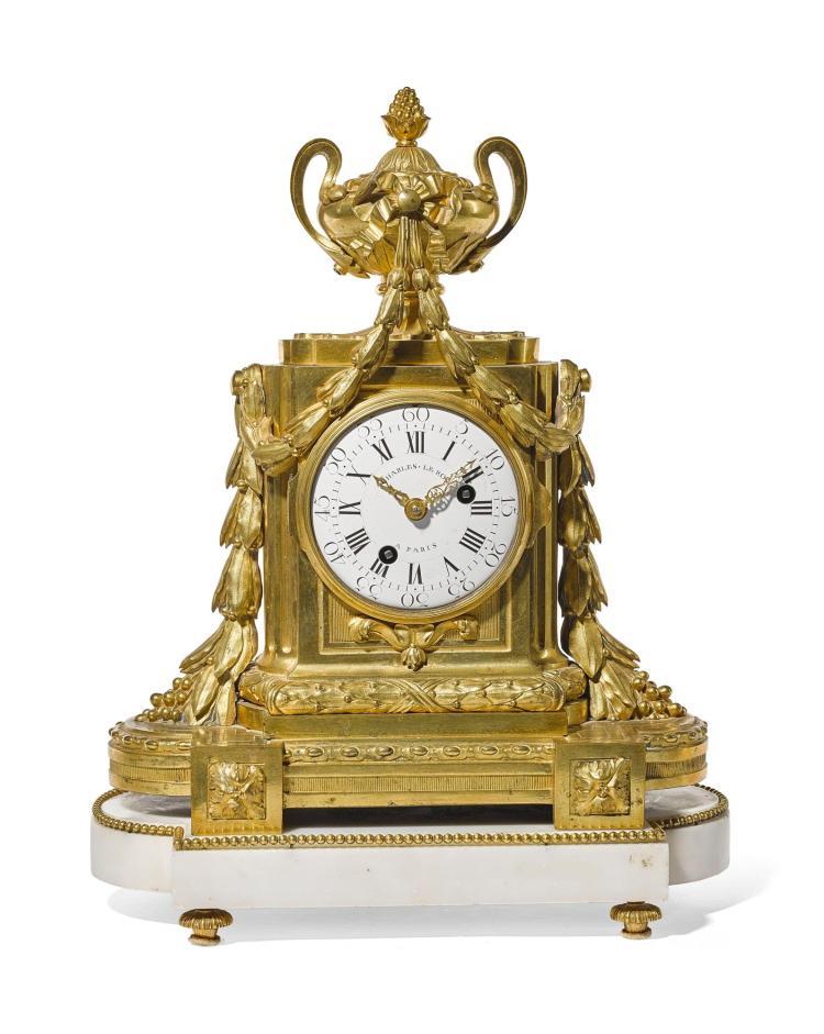ALOUIS XVIORMOLU MANTEL CLOCK, CHARLES LE ROY, PARIS, CIRCA 1780 |