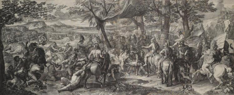 AFTER CHARLES LE BRUN | The Battle of Alexander against Porus