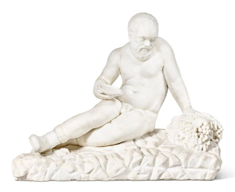 ITALIAN, 17TH CENTURY | Socrates as Silenus