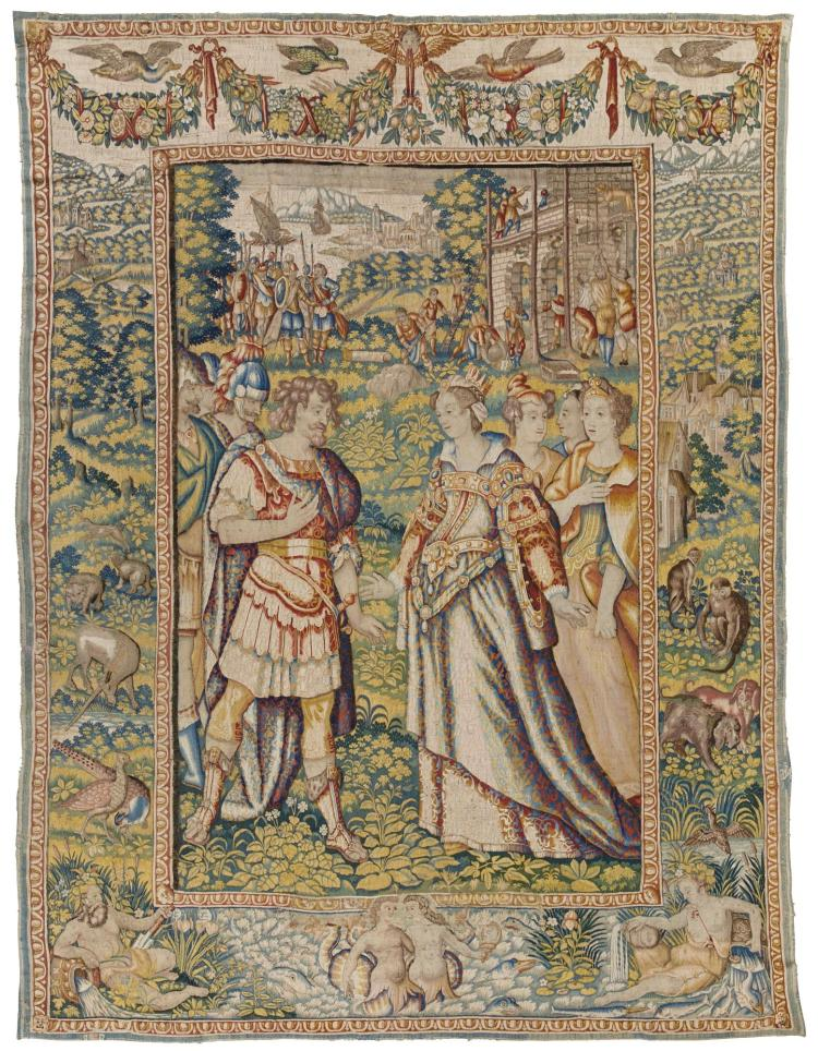 A FLEMISH MYTHOLOGICAL TAPESTRY, BRUSSELS, WORKSHOP OF NICAISE-AERTS EARLY 17TH CENTURY |