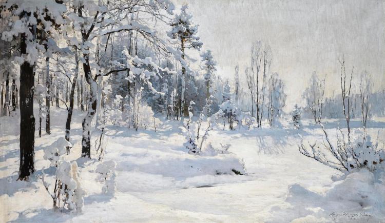 ANDREI NIKOLAEVICH SHILDER   Winter Landscape