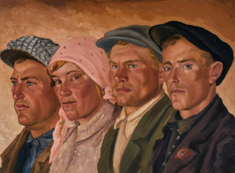 SERGEI PARMENOVICH BALZAMOV | The New Soviet People