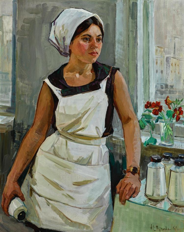 NINA PAVLOVNA VOLKOVA   Textile Worker Lyudmila