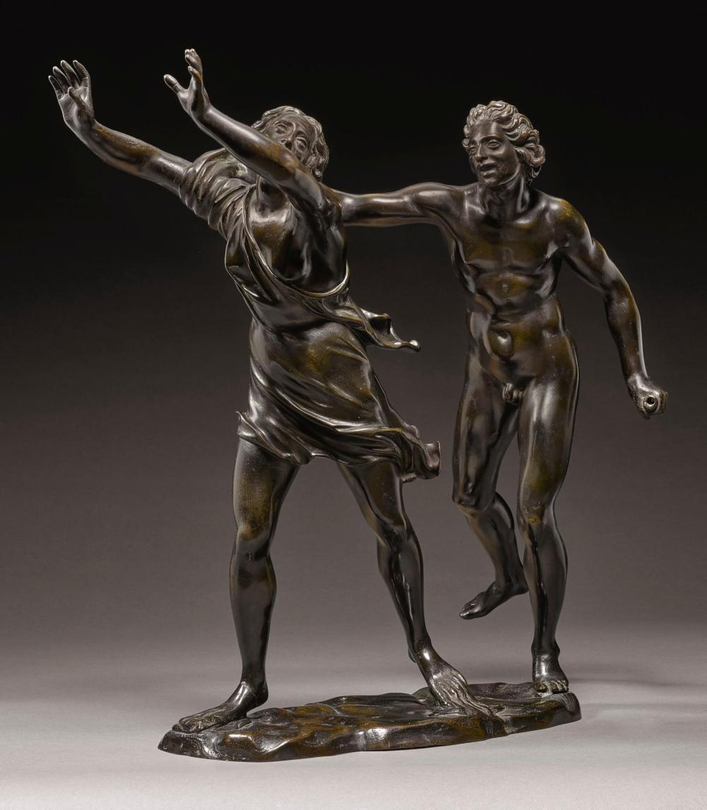 ATTRIBUTED TO FERDINANDO TACCA (1619-1686) ITALIAN, FLORENCE, CIRCA 1640-1650 | Apollo and Daphne