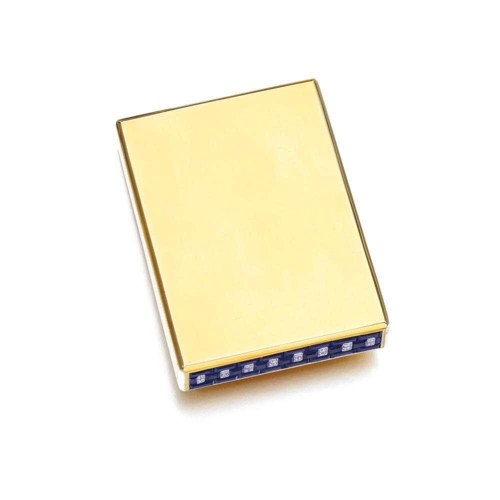 Cigarette Diamond: SAPPHIRE AND DIAMOND CIGARETTE CASE, VAN CLEEF & ARPELS, 193