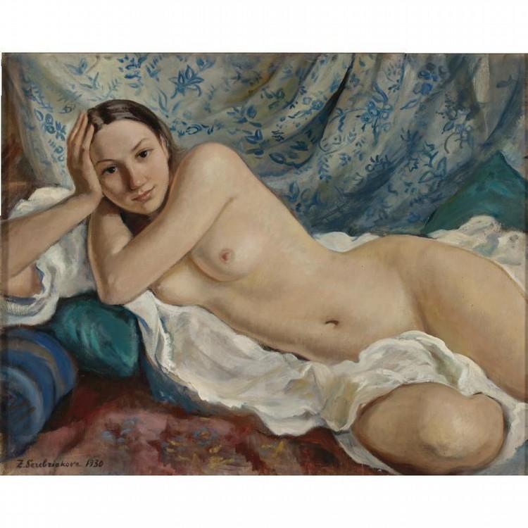 f - ZINAIDA EVGENIEVNA SEREBRIAKOVA, 1884-1967