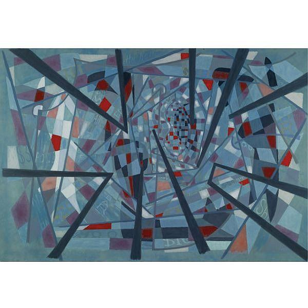George L. K. Morris , 1905-1975 Fourteenth Street Promenade (#2) oil on canvas