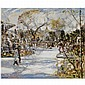 - James Kay , 1858 - 1942 paris sunshine oil on canvas   , James Kay, Click for value