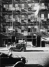 WALKER EVANS | 41-43 Carmine Street, New York City