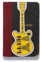 B.B. KING. PERSONAL ADDRESS BOOK, CIRCA 1984