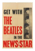 THE BEATLES. LONDON NEWS AND STAR PROMOTIONAL POSTER, CIRCA 1964