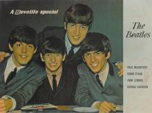 THE BEATLES. SIGNED REVEILLE MAGAZINE POSTER, 1963