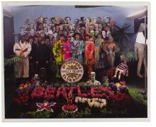 THE BEATLES — MICHAEL COOPER. SGT PEPPER'S LONELY HEARTS CLUB BAND DYE TRANSFER PHOTOGRAPH, 1967