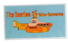 THE BEATLES. YELLOW SUBMARINE ORIGINAL CAPITOL RECORDS PROMOTIONAL POSTER, 1969