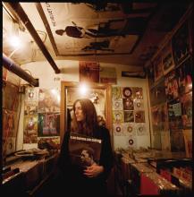 DANNY CLINCH. PATTI SMITH. SUBTERRANEAN RECORDS - NEW YORK, 2000