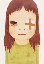 YOSHITOMO NARA   Untitled (Eye Patch)