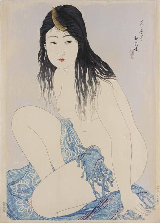 f - TAKAHASHI SHOTEI (HIROAKI) (1871-1945)