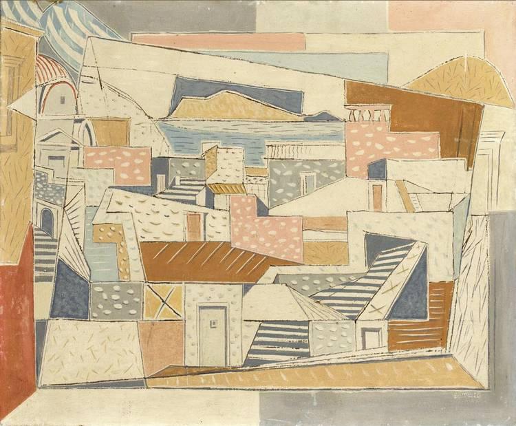 NICOS HADJIKIRIAKOS GHIKA, GREEK 1906-1994