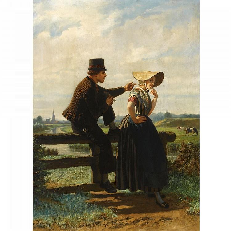 ADOLF ALEXANDER DILLENS, BELGIAN, 1821-1877