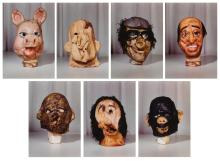 PAUL MCCARTHY | Masks (Small) from the Propo series (portfolio of 7)
