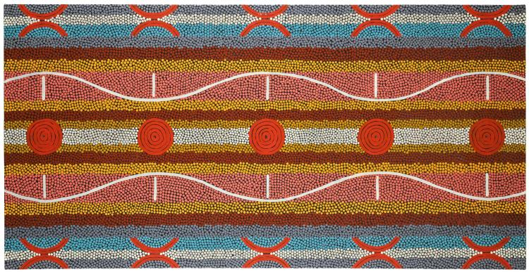 CLIFFORD POSSUM TJAPALTJARRI CIRCA 1932-2002 | Untitled