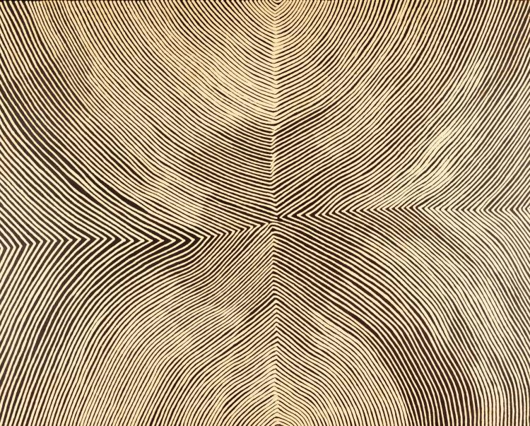 KANYA TJAPANGATI BORN CIRCA 1930 | Kirritjinna (A Rockhole Site North of Jupiter Well)