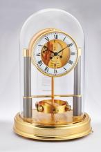 JAEGER-LECOULTRE | A GILT BRASS ATMOS CLOCK<br />NO 0231 SERIAL 600103 MADE FOR THE 150TH ANNIVERSARY CIRCA 1983 <br /><br />