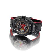 AUDEMARS PIGUET | A LIMITED EDITION CERAMIC, FORGED CARBON AND TITANIUM AUTOMATIC CHRONOGRAPH WRISTWATCH WITH DATE AND REGISTERS<br />CASE G99485 NO 1027/1750 ROYAL OAK OFFSHORE GRAND PRIX CIRCA 2010<br /><br />