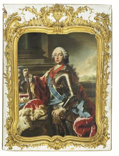 ATTRIBUÉ À GEORGES DESMARÉES GIMO, SWEDEN 1697 - 1776 MUNICH