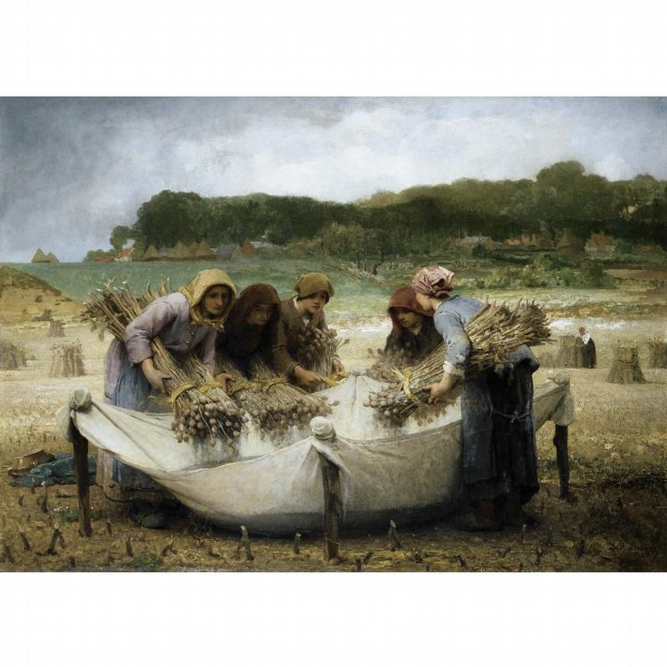 DÉSIRÉ-FRANÇOIS LAUGÉE FRENCH, 1823-1896 THE POPPY HARVEST
