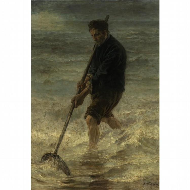 PROPERTY OF AN EDUCATIONAL RESEARCH FOUNDATION JOZEF ISRAELS DUTCH, 1824-1911 THE FISHERMAN