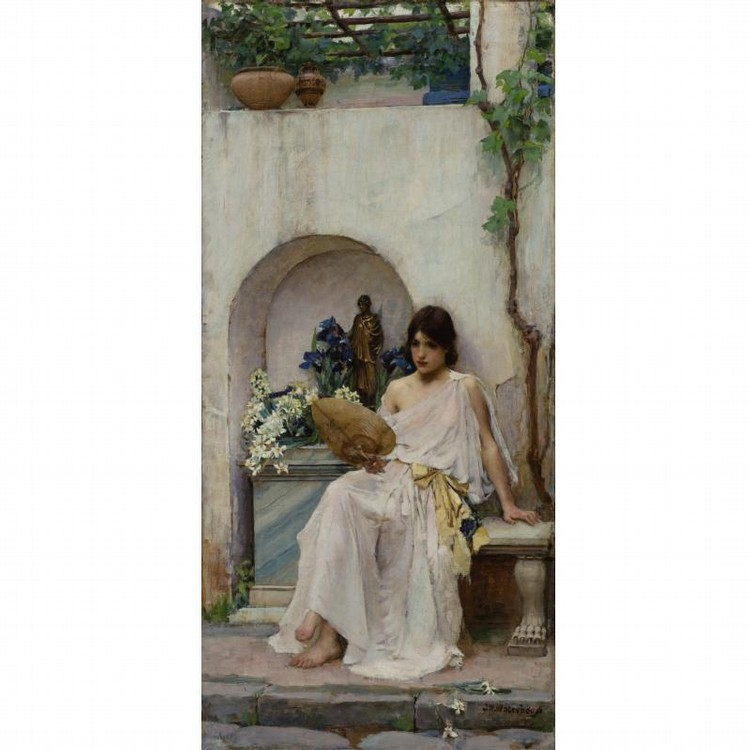 PROPERTY FROM A PRIVATE MIDWESTERN COLLECTION JOHN WILLIAM WATERHOUSE, R.A., R.I.   BRITISH,