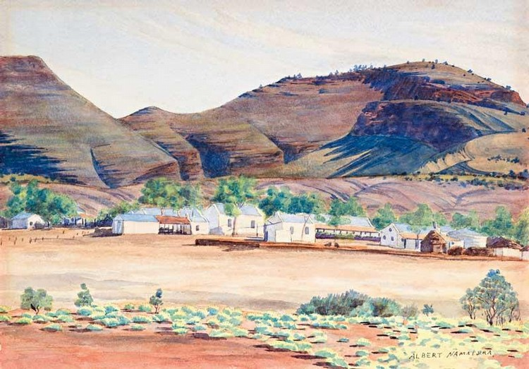 Albert namatjira works on sale at auction biography for Painting for sale by artist