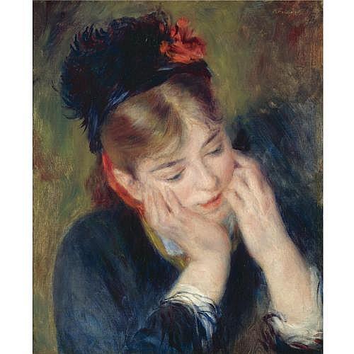 fl - Pierre-Auguste Renoir , RÉFLEXION