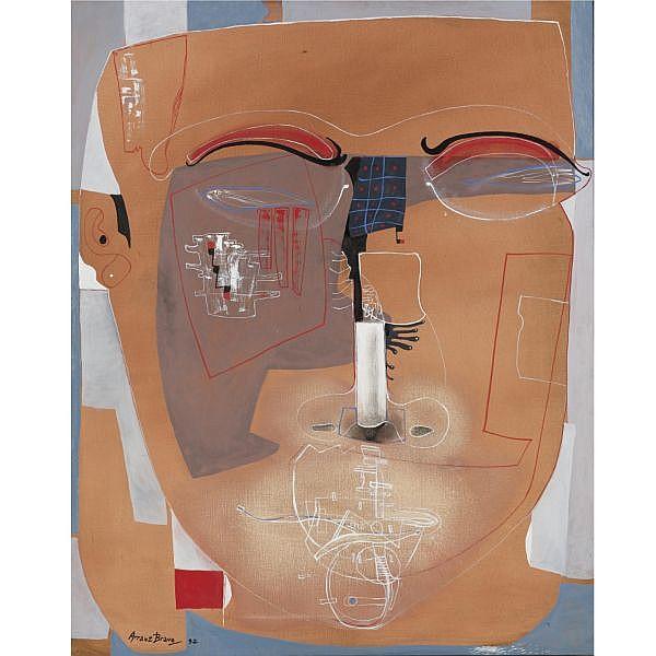 Eduardo Arranz-Bravo b. 1941 , Lover head, III Oil on canvas